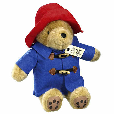 Classic 30cm Paddington Bear with Blue Coat New