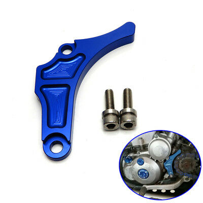 CNC Case Saver Guard Chain Guide Sprocket for Yamaha YFZ 450 YFZ450 Blue