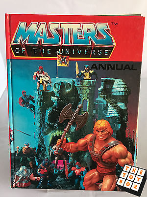 He Man Masters of The Universe MOTU Story Annual Book 1983