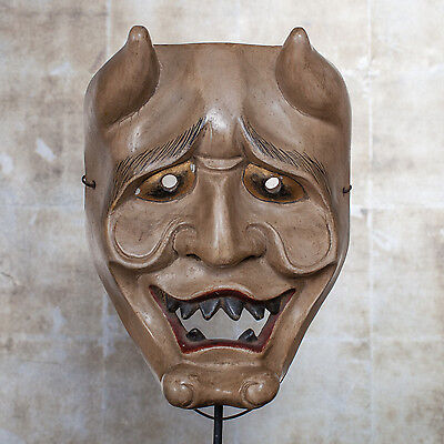Antique Japanese Noh Mask 19th century