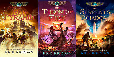 kane chronicles series by Rick Riordan-AUDIO BOOK/mp3