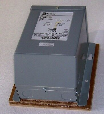 1 KVA 277 to 120-240 transformer GE 9T51B0190  (new in box)