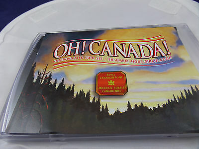 2001 Oh! Canada! Uncirculated 7 Coin Mint Set - Royal Canadian Mint