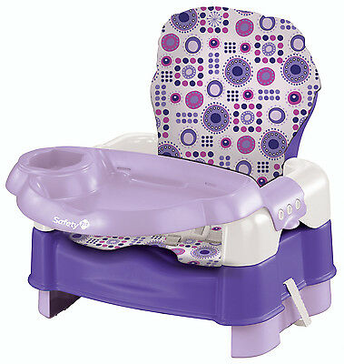 Safety 1st Deluxe Sit, Snack & Go Convertible Booster, Lavender