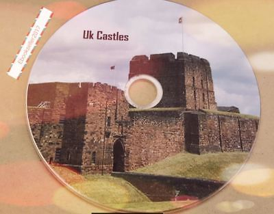 Castles of the UK History 100 old books ebooks on 1 disc in PDF & Kindle Formats