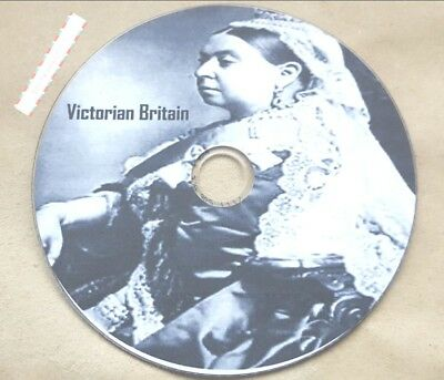 Victorian Britain History 60 old books scanned on 1 disc in PDF & Kindle Format