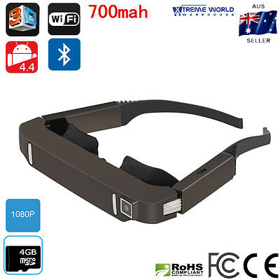Virtual Reality Glasses 3D Video Android 4.4 Vision 800 Bluetooth Wi-Fi