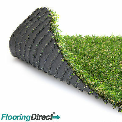 Artificial Grass Mat 15mm thick Greengrocers plastic Astro Lawn turf 60cm x 40cm