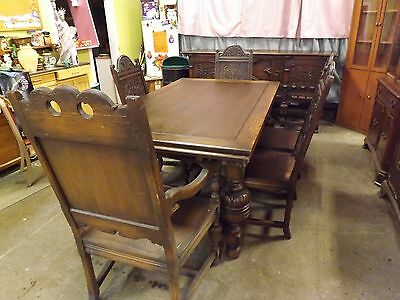 1920s Dining room set Oak