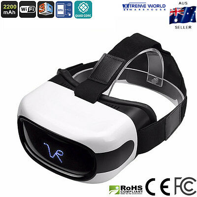 Virtual Reality Glasses Android 3D 5 Inch HD Display Wi-Fi