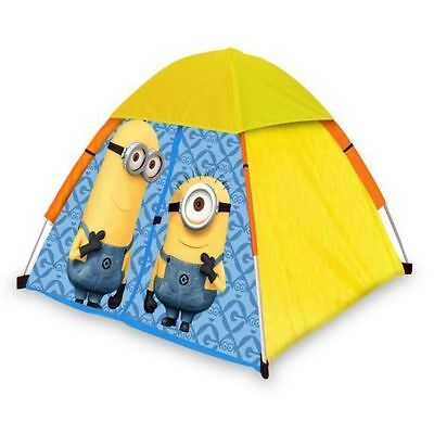 Despicable Me Kids Minion Made Igloo Play Tent Childrens Pop Up Garden Playhouse