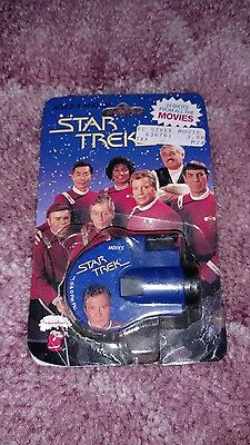 Star Trek Key Chain Click Viewer 24 Shots From All The Movies 1993