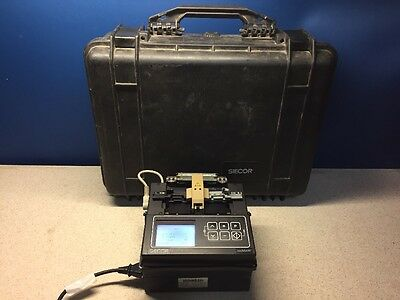 Siecor X75-12 Minimass Fusion Splicer with Case