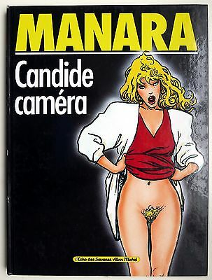 Milo Manara,  Candide Caméra. [as mint]