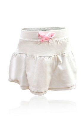 Baby Girls RaRa Skirt, baby girl Cotton dress, Pure Cotton, white skirt