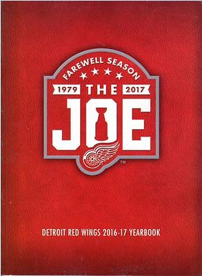 2016 - 2017 Detroit Red Wings Yearbook Farewell Season The Joe Stanley Cup Champ