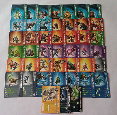 Skylanders Trap Team Trading Cards : you Pick which one you would like