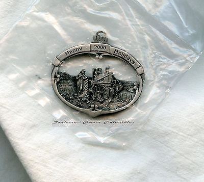 LAST CHANCE!! John Deere Pewter Christmas Ornament Walter H. Hinton Numbered