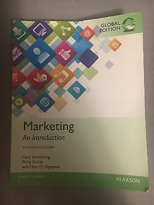 Marketing An Introduction 13th Edition Gary Armstrong Philip Kotler with Marc O.