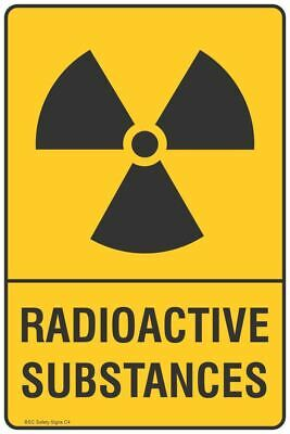 Radioactive Substances Safety Sign