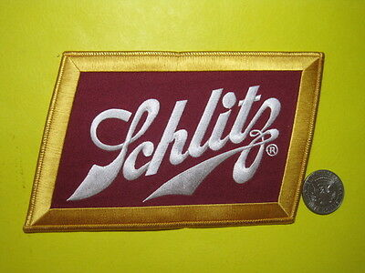 Beer Patch Schlitz Beer Patch Look And Buy! Large Back Size Size!!!*