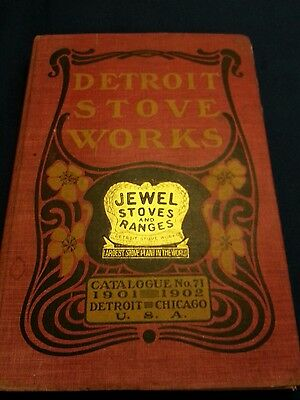 1901 Jewell Stoves and Ranges, Advertising catalogue No 71. Detroit & Chigago