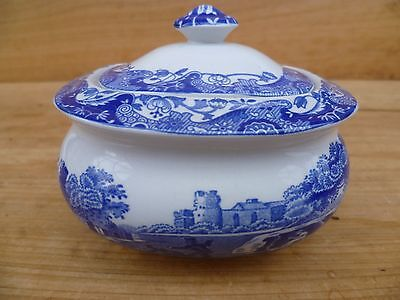 Vintage Old Spode Sugar Bowl, Old Serving Dish Italy, (E56)