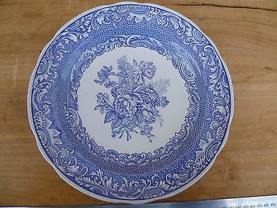 Vintage Old Large Size Blue And White Spode Blue Room, Blue & White Platter (E60