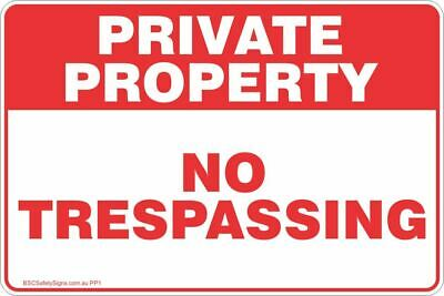 NOTICE PRIVATE PROPERTY Keep Out 2 Safety Signs and Stickers