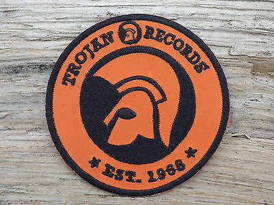 A155 ECUSSON PATCH THERMOCOLLANT aufnaher toppa TROJAN records ska rocksteady