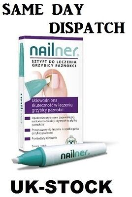 NAILNER REPAIR 4ml 400applicatons Toe Nail Fungus Infection - Grzybica Paznokci