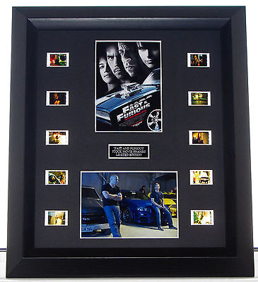 Fast And Furious  Film Cell Mount #32/100