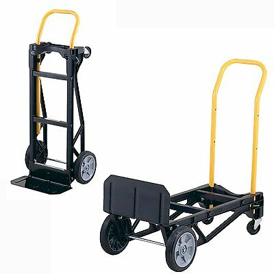 Moving Equipment Hand Truck Appliance Cart Furniture Dolly Light Duty 400 lbs