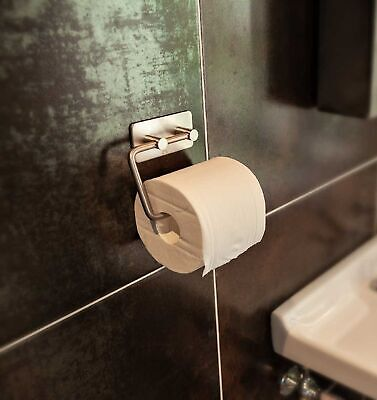 ZOIC 304 Stainless Steel Toilet Paper Holder Roll Towel Tissue Hanger Bathroom
