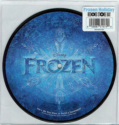 """Frozen - Do You Want To Build A Snowman / In Summer - New 7"""" Picture Disc Vinyl"""