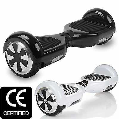 Self Balancing Electric Scooter Balance Hoverboard Two Wheel Black & White
