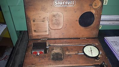 Starrett No. 657 Dial Indicator with Magnetic Base Rod (931-4-AB14)