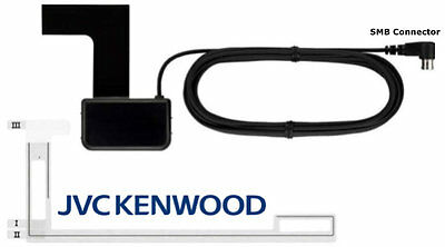 Kenwood Dab Antenna Aerial - Glass mount - Amplified - Genuine  Universal