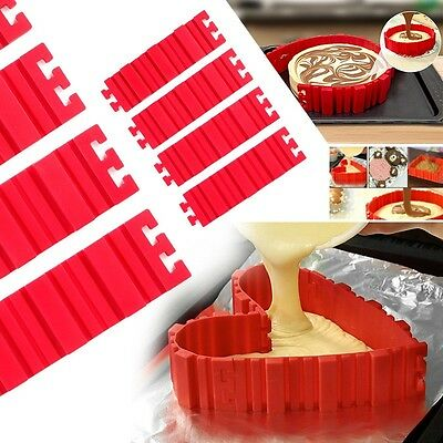 4Pcs HQ Silicone Design Your Cakes Any Shape You Like Be Creative