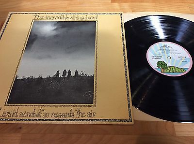 The Incredible String Band - Liquid Acrobat As Regards The Air Lp Island Pink Ex