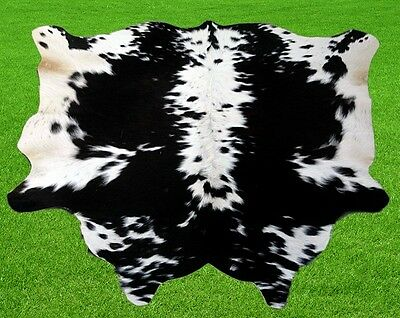 """New Cowhide Rugs Area Cow Skin Leather 13.44 sq.feet (44""""x44"""") Cow hide MB-10108"""