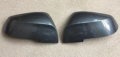 CARBON WING MIRROR COVERS BMW 1/2/3/4 SERIES F20 F22 F23 F30 F32 F34 F36 M i3