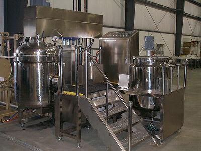 Vacuum Mixer Homogenizer - New / Never used in production
