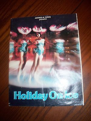 Holiday On Ice Souvenir Program
