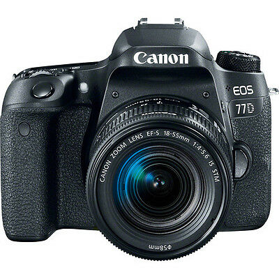 Canon EOS 77D DSLR Camera with 18-55mm Lens BRAND NEW!!