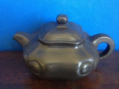 Stunning Chinese Purple Sand Teapot Marked Shao XuMao   N021