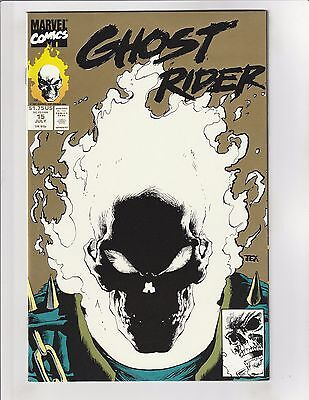 Ghost Rider (1990) #15 NM- 9.2 2nd Print Marvel Comics Glow-In-Dark Cover