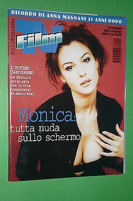 Magazine Film Tv N.10/1998 Monica Bellucci Alba Parietti Burt Reynolds Magnani