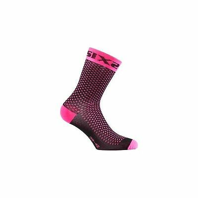 Calcetin Compresivo Sixs Rosa Fluor 43-46Sixs