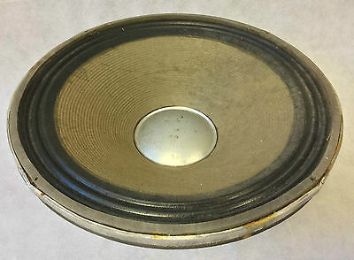 Vintage 1980s 15 inch McKenzie Professional Bass Speaker Original Box Working